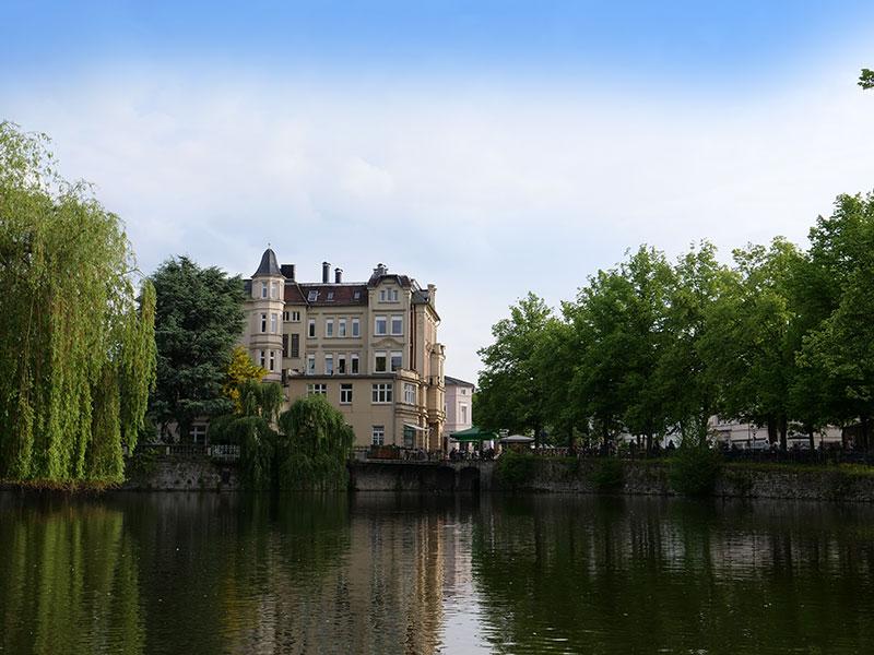 Schlossgraben in Detmold