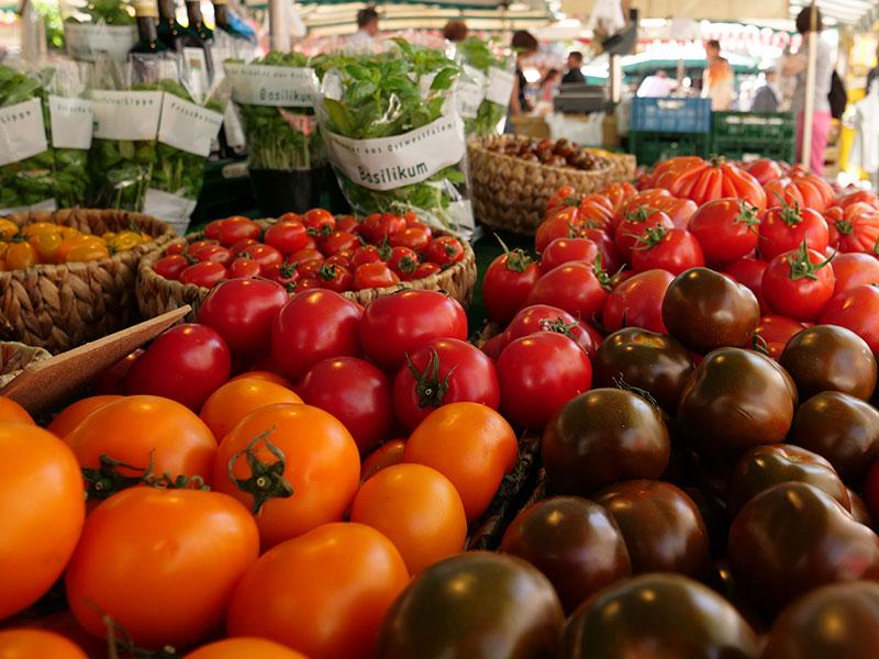 Wochenmarkt in Detmold